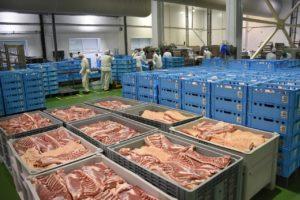 Курская область  по производству мяса  на 5 месте в России  и на 4-м –  среди регионов ЦФО