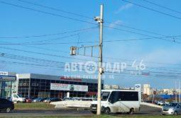 В Курске у перехода на улице Энгельса ограничили скорость