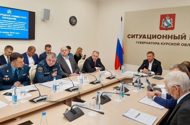 В Курске обсуждают, как снизить число пожаров и ДТП