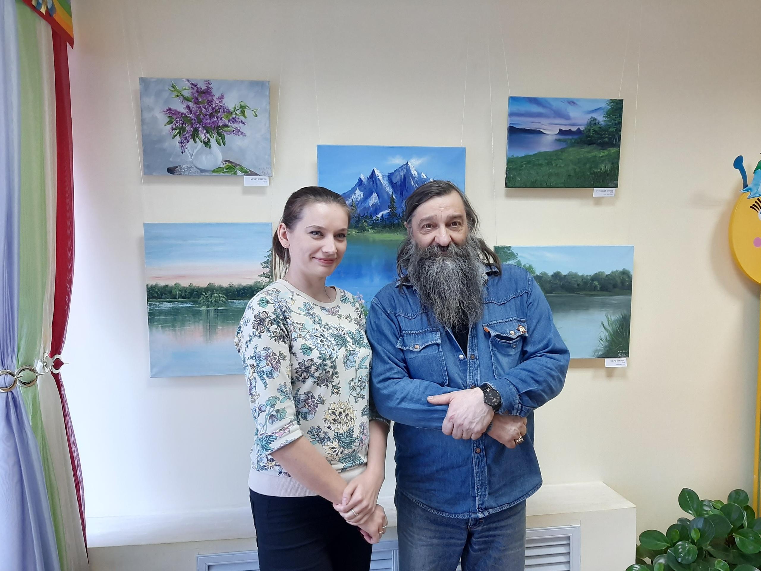Курян приглашают на выставку живописи