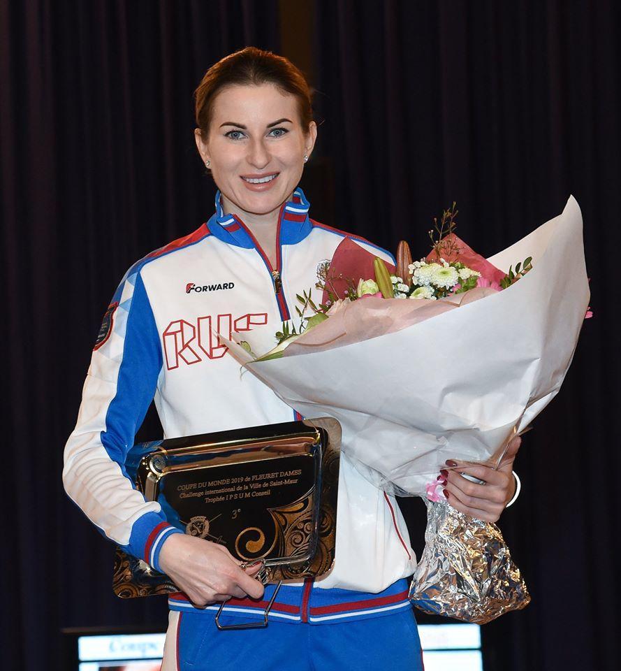Курянка Инна Дериглазова завоевала третье место на Кубке мира