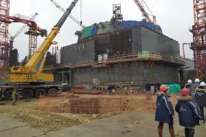 Роман Старовойт осмотрел площадку строительства Курской АЭС-2