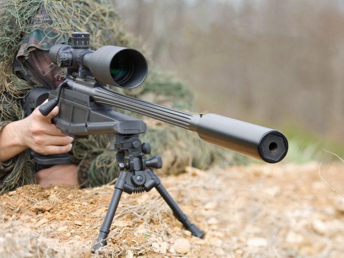 В Курской области проходит тренировка снайперов спецподразделений