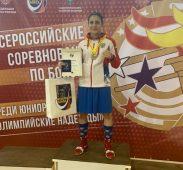 Курянка стала мастером спорта России по боксу