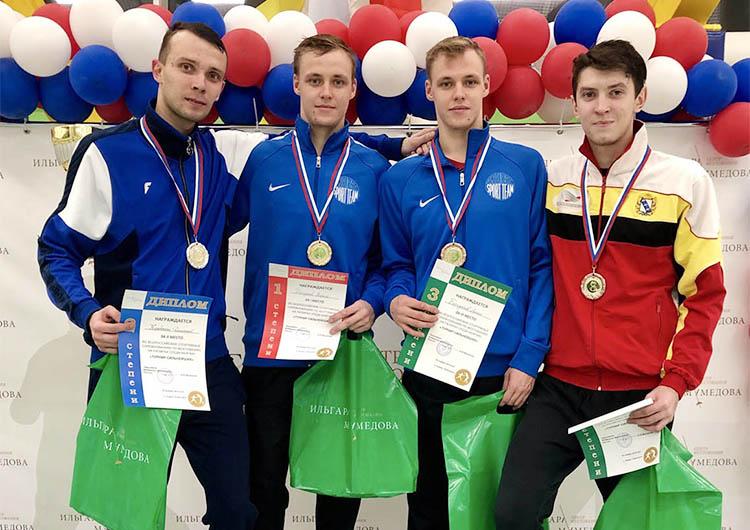 Курские рапиристы стали одними из лучших в России