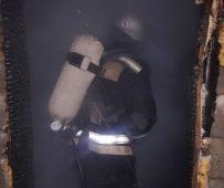В Курске горел частный дом