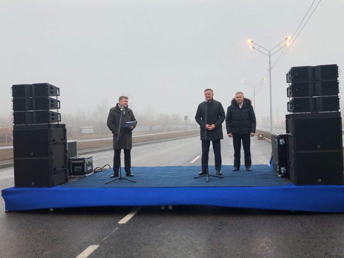 В Курске открыли рабочее движение по проспекту Надежды Плевицкой