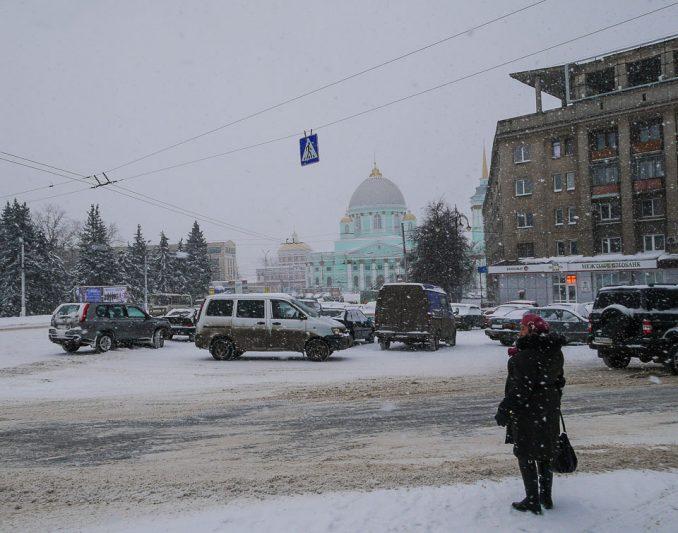 Дорожную ситуацию в Курске контролируют круглосуточно