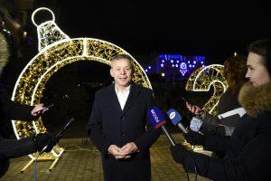 Мэр города пригласил курян отметить Новый год на Театральной площади