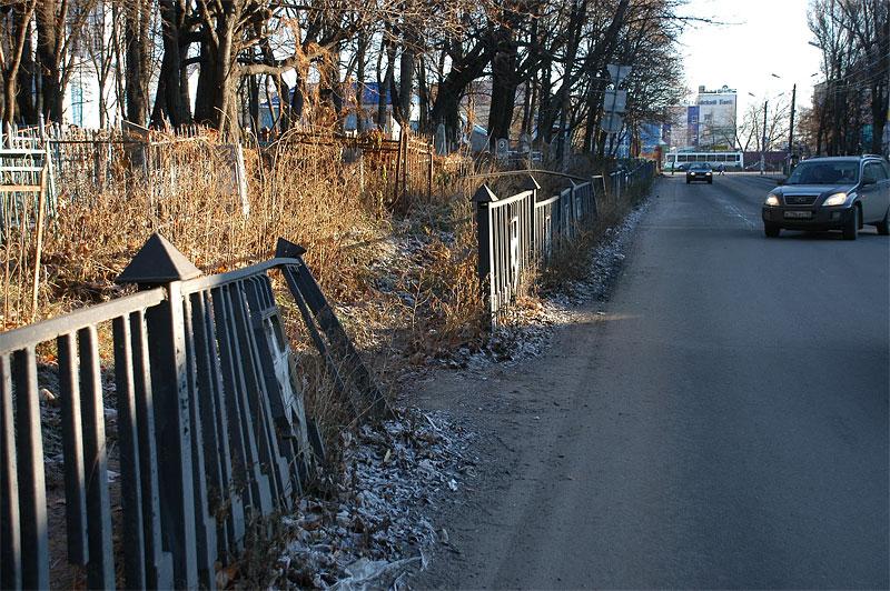 В Курске облагородят Никитское кладбище