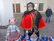Курская мастерица создала к Рождеству новую коллекцию кукол