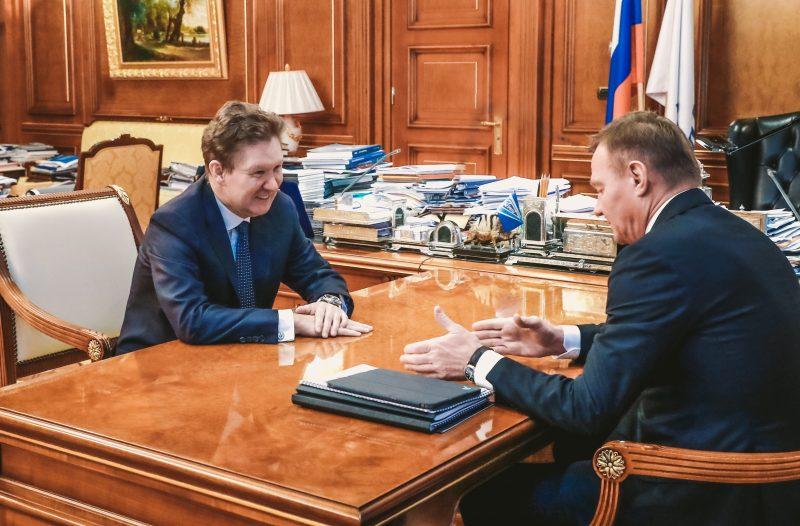 «Газпром» планирует построить пять газопроводов в Курской области