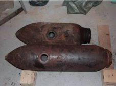 В Курской области нашли авиабомбы времен Великой Отечественной войны