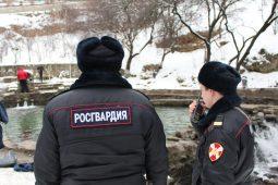 Росгвардейцы проверили владельцев оружия в Курске