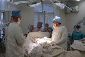 Курский хирург в рыльской больнице