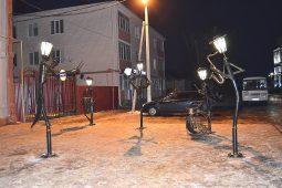 Необычные фонари появились в Курской области