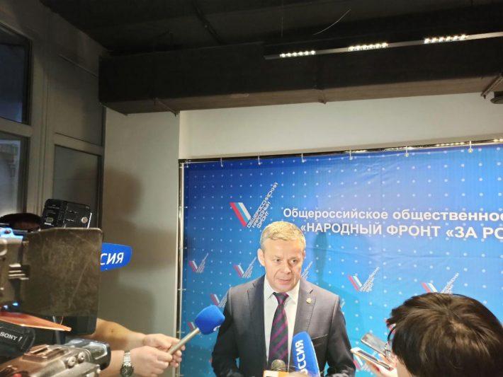 Виктор Карамышев прокомментировал послание президента Федеральному собранию