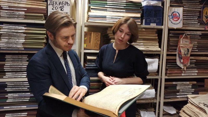 «Курскую правду» посетил советник посольства Швеции Юхан Эйдман