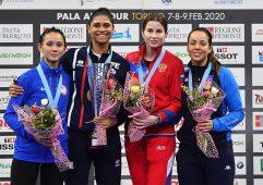 Курянка Инна Дериглазова заняла третье место на Кубке мира