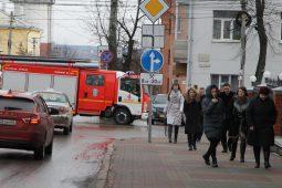 Сотрудников администрации Курской области эвакуировали