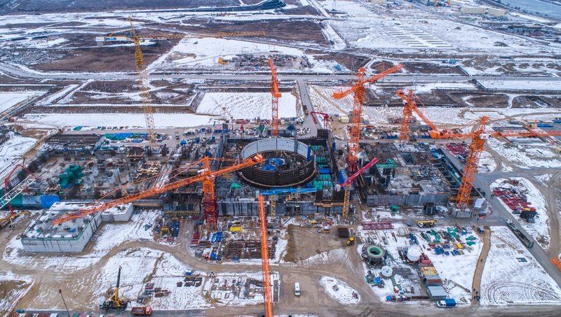 На Курской АЭС продолжается сооружение второго «ядерного» острова