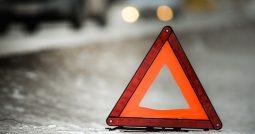 В Курской области такси улетело с трассы