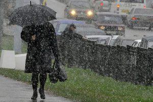 В Курской области ожидается мокрый снег