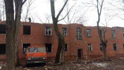В Курске начали сносить общежития