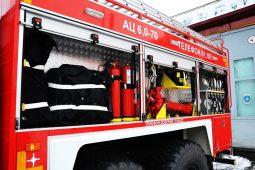 Щигры Курской области получили новую пожарную машину