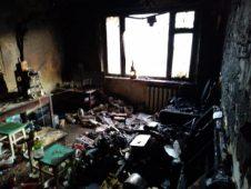 В Курчатове расследуют факт гибели курянина при пожаре