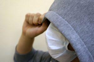 Разбойник  в медицинской маске