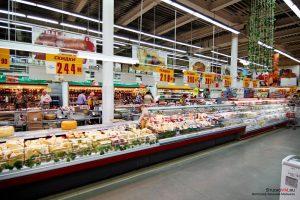 Регион полностью обеспечен продуктами