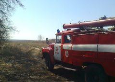 В Курской области горел жилой дом