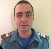 Курские спасатели почтили память погибшего коллеги из Ростова-на-Дону