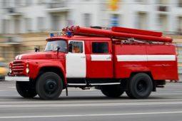 В Курской области в пожаре пострадал пьяный мужчина