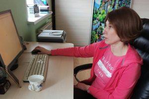 """Главный редактор """"Курской правды"""" рассказала, каково учить студентов в режиме онлайн"""