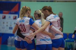 Чемпионат России  по волейболу среди женских команд приостановили
