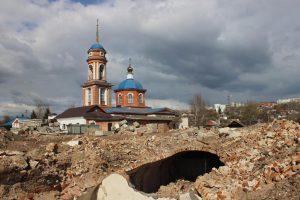 Остановлен снос винных погребов на улице Большевиков