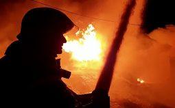 В Курской области в пожаре погиб мужчина