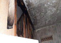 В пригороде Курска горел жилой дом