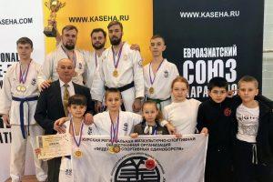 Успешно выступили  на чемпионате и юниорском Первенстве ЦФО по карате-до
