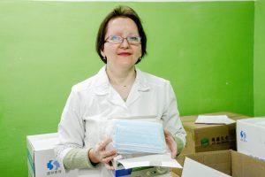 Маски из Поднебесной прибыли в Курск