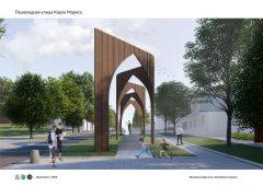 Курская область: во Льгове может появиться пешеходная улица