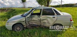 В аварии в Курской области пострадали три человека