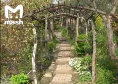 Курские братья-рокеры создали сад в один гектар для мамы