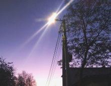 В Курске на 13 улицах восстановили наружное освещение