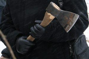 В Курской области преступники-рецидивисты угрожали убийством топором