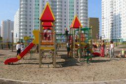 В Курской области появятся 34 детские и 24 спортивные площадки