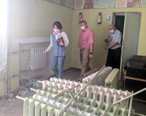Юлия Полетыкина проверила ход ремонта Дома культуры в Курской области
