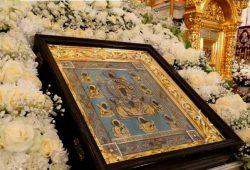 Курскую Коренную икону «Знамение» доставят в монастырь без крестного хода
